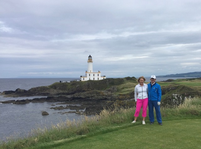 Directors Heather & Peter Wood at Turnberry Resort