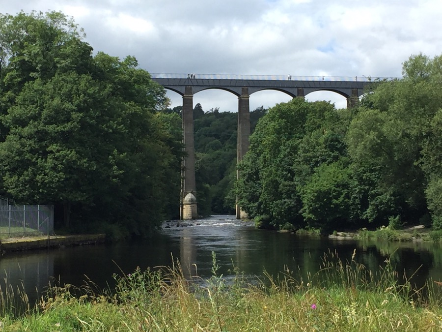 Viaduct in Wales
