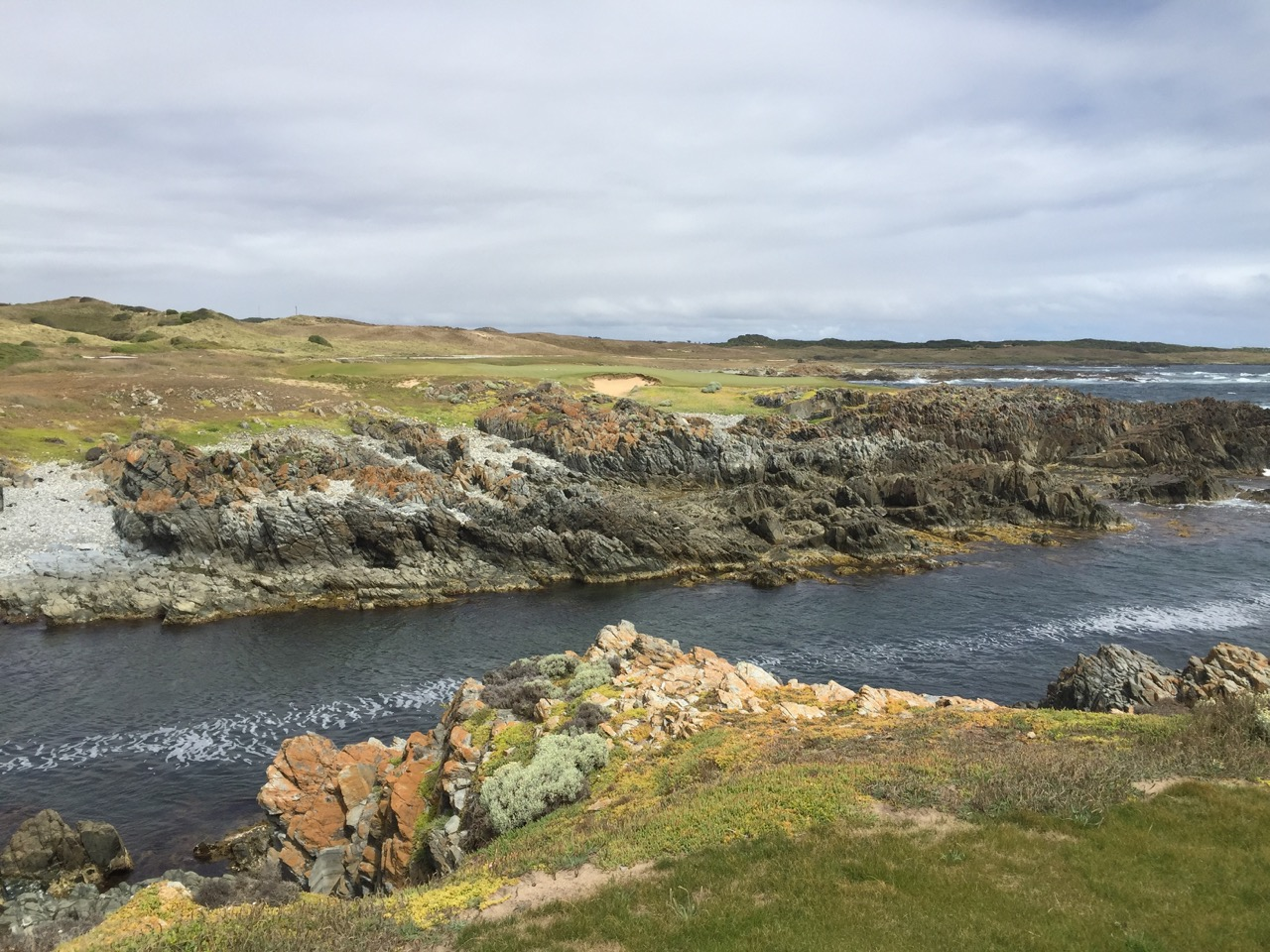Ocean Dunes Golf Course- Hole 4
