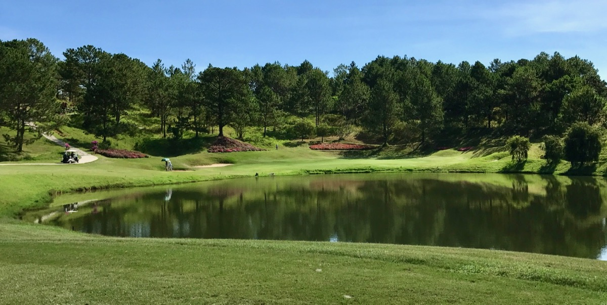 Dalat Palace GC- Augusta meets Japan in Vietnam