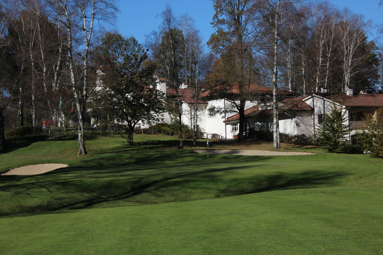 Golf Club Biella- hole 9
