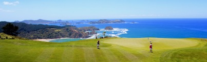 Kauri Cliffs Golf Club in the Bay of Islands