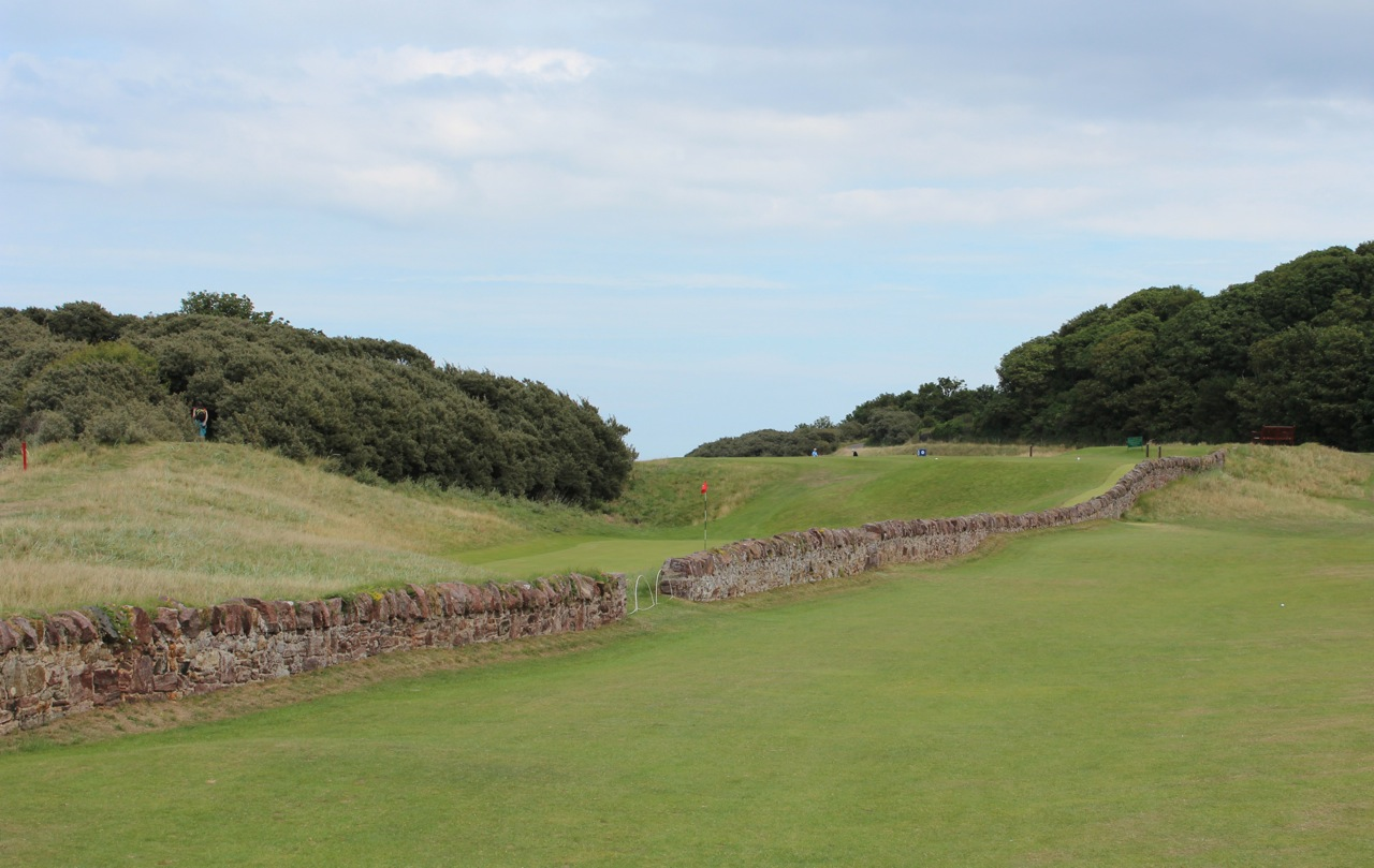 North Berwick Golf Club( West Links) East Lothian- hole 13