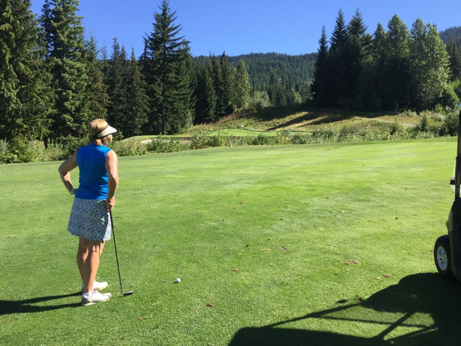 Chateau Whistler Golf Course- hole 2