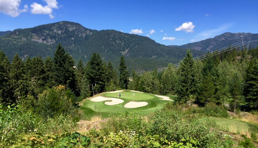 Chateau Whistler Golf Course- hole 10