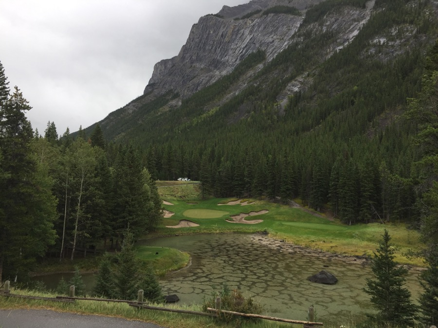 'The Devil's Cauldron'- Banff Springs Golf Course