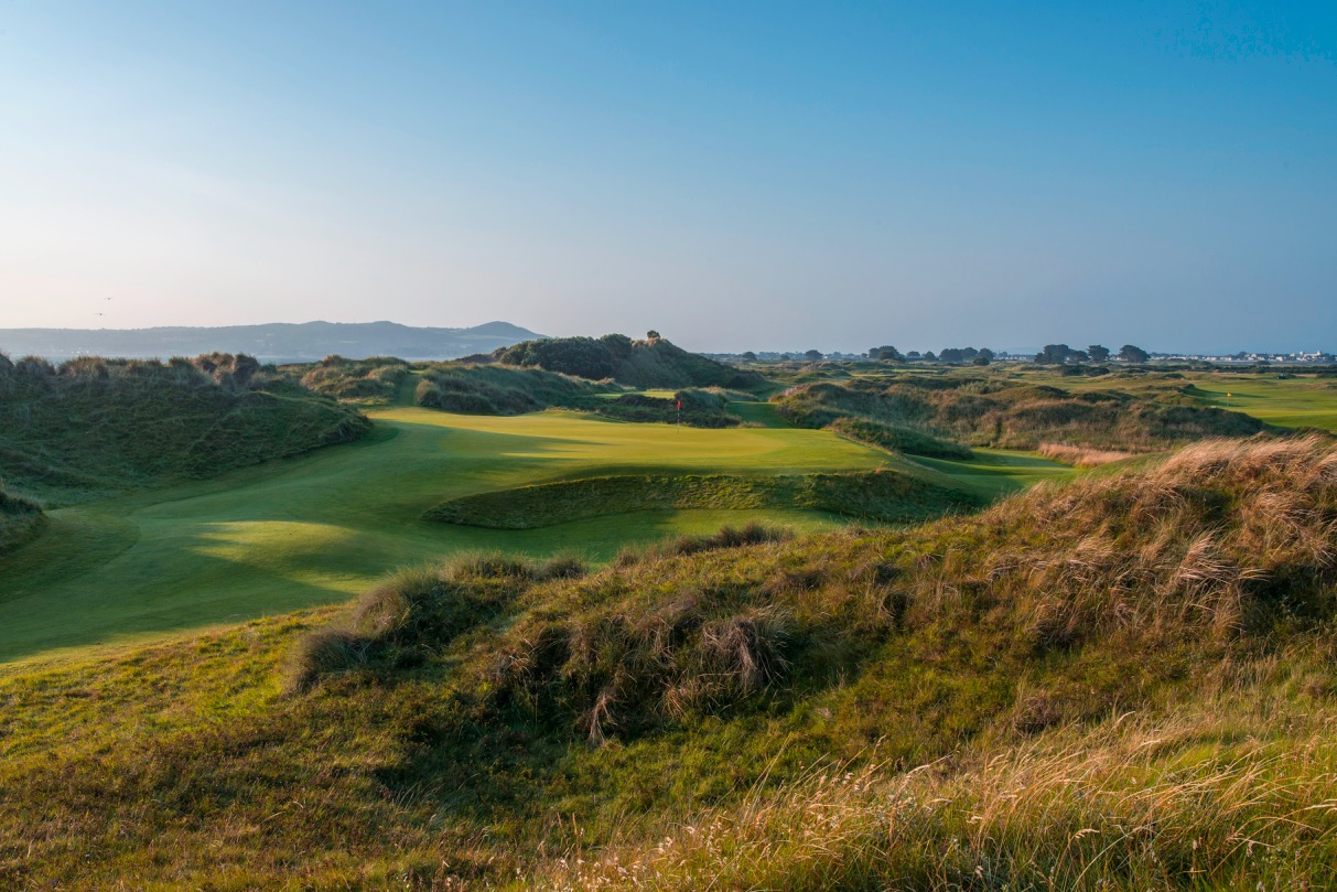 Portmarnock Links- hole 9