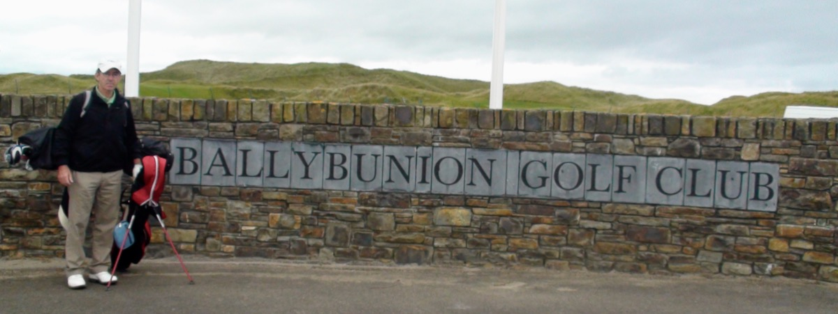 Ballybunion GC sign