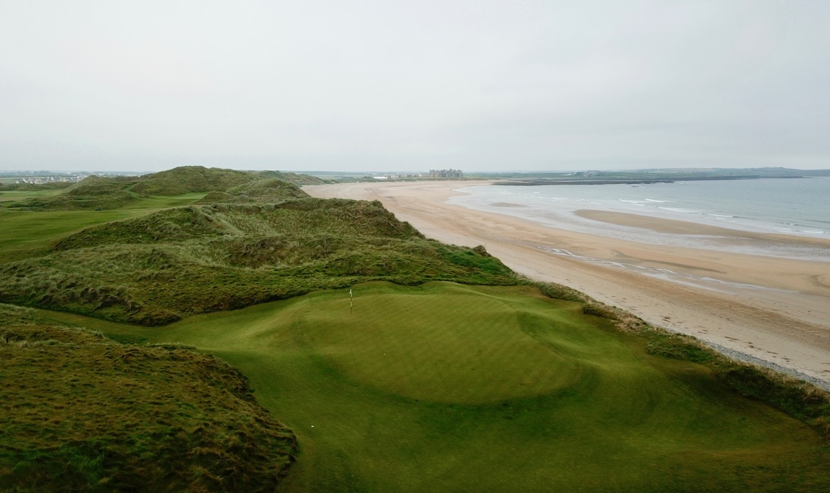 Doonbeg Golf Links- hole 14 green