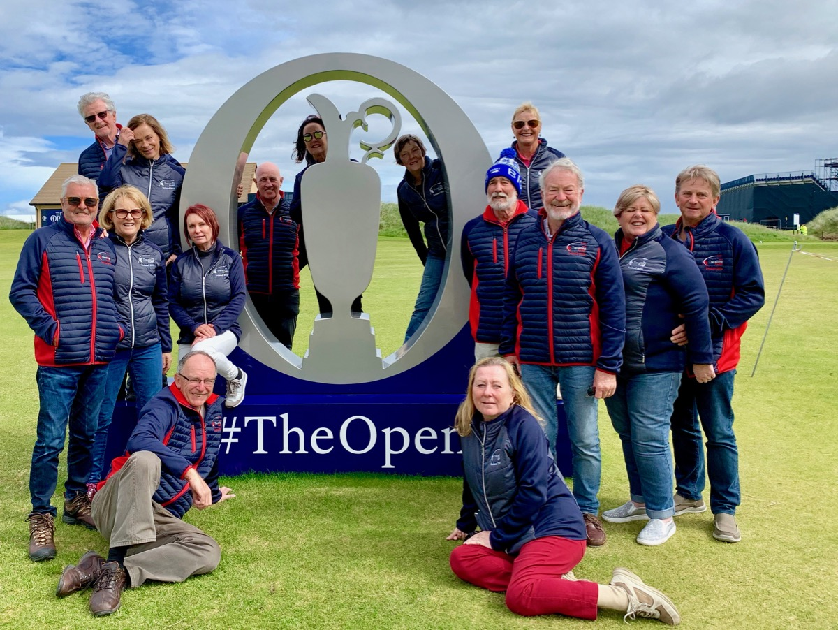 Group pic- Royal Portrush Open
