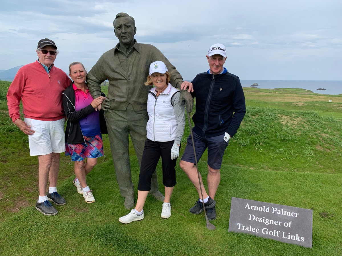 Hangin with Arnie at Tralee Golf Links