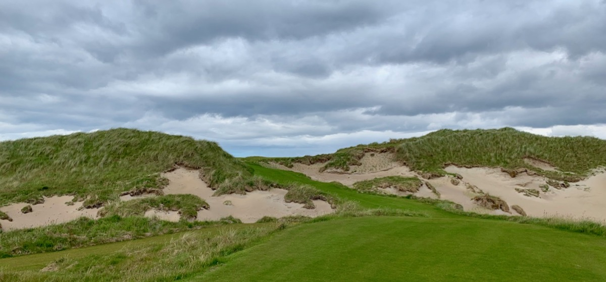 Narin Portnoo- bunkering on hole 14a
