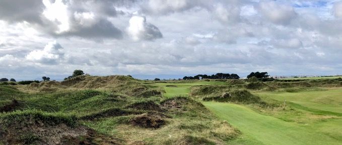 Portmarnock Links- hole 11