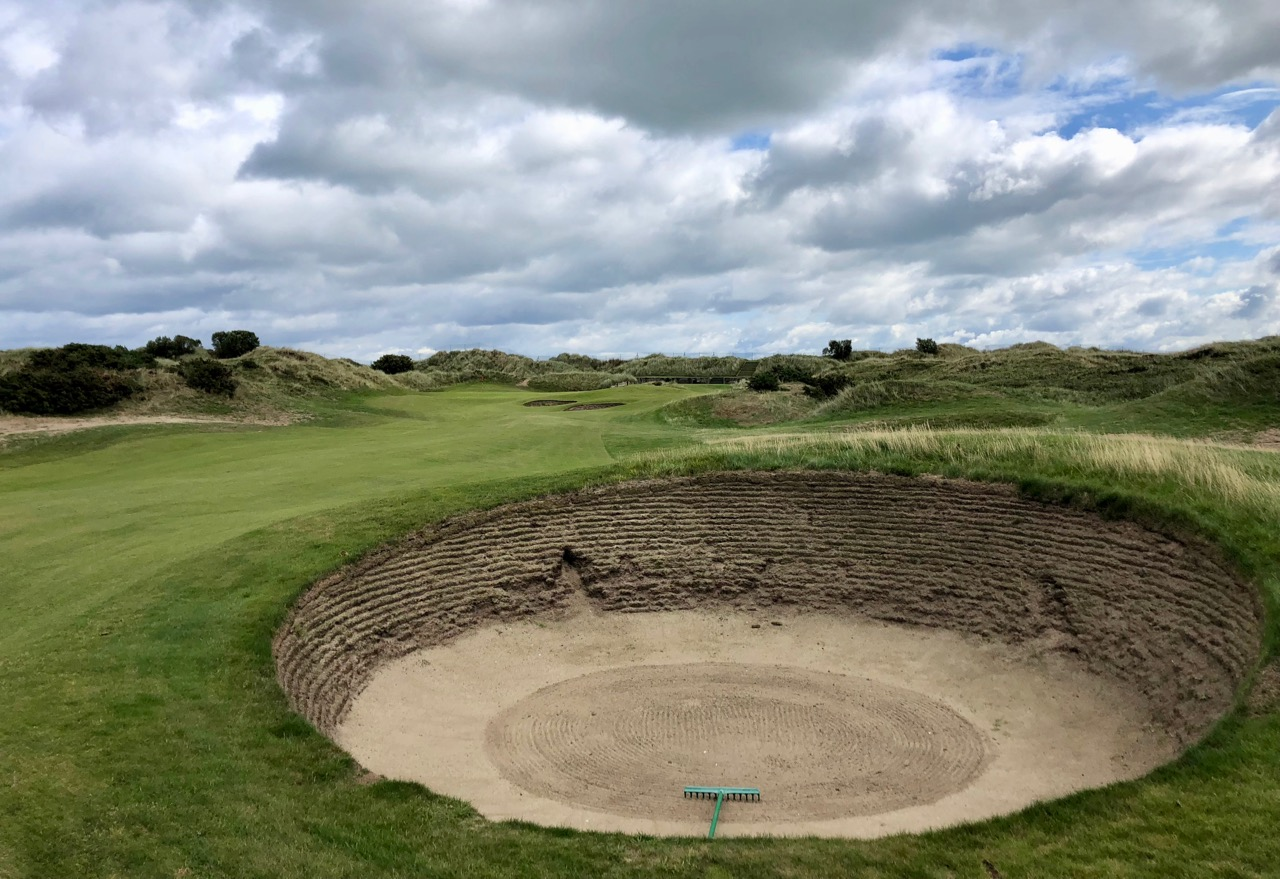 Portmarnock Links- hole 15