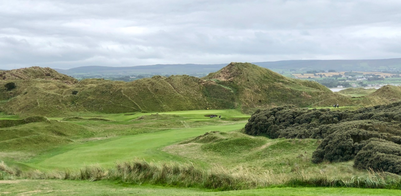 Portstewart GC- The Strand Course- hole 1