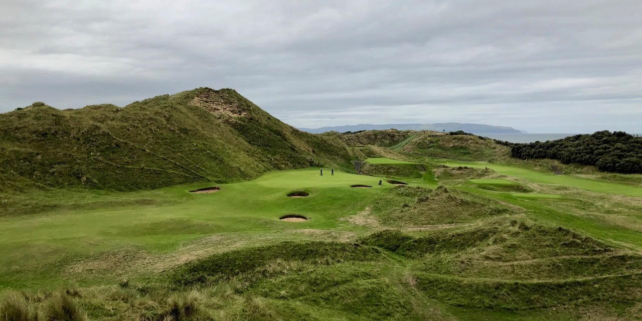 Portstewart GC- The Strand Course- hole 9