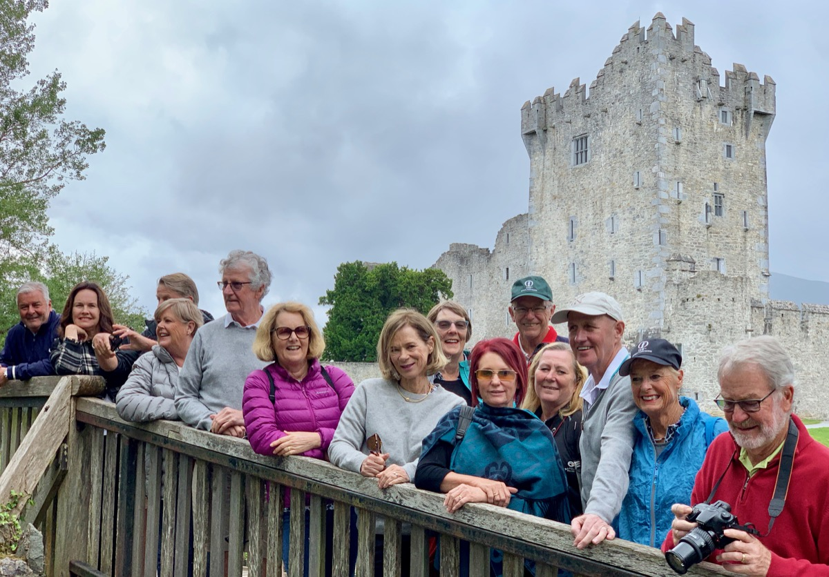 Ross Castle, Killarney- group pic