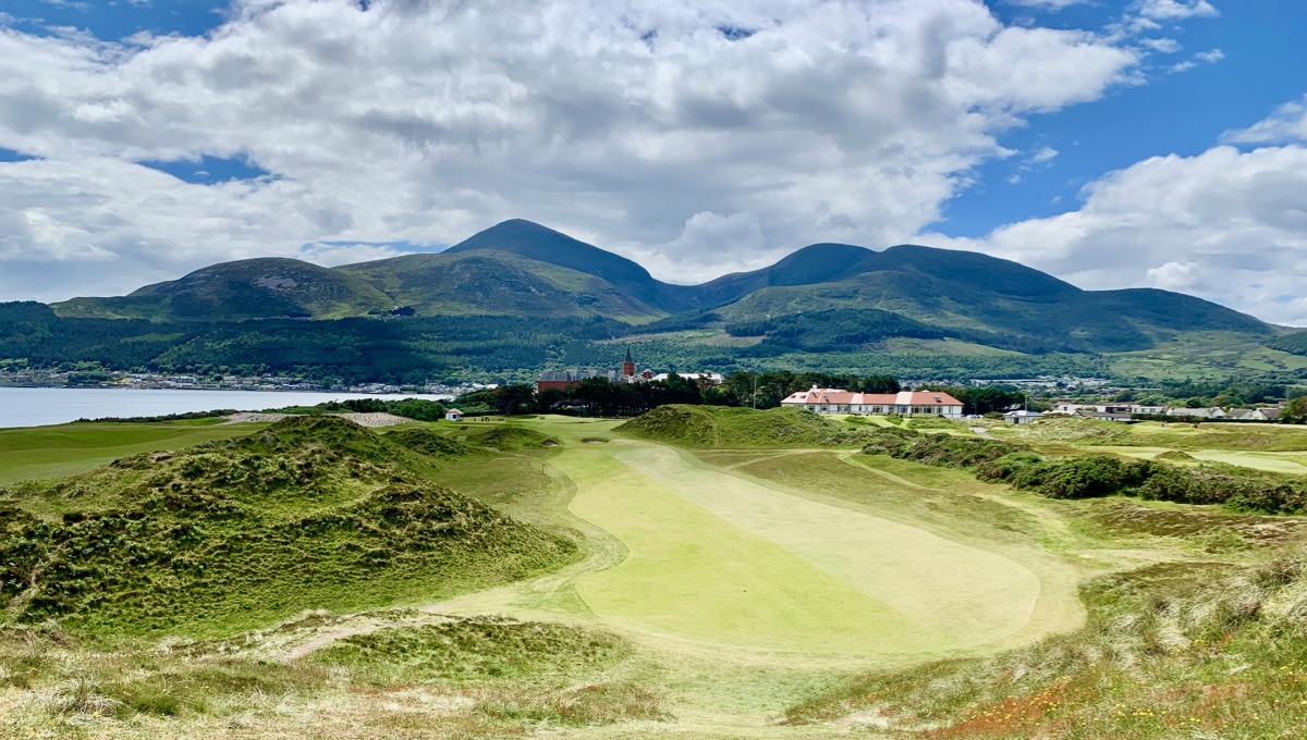Royal County Down GC- hole 9