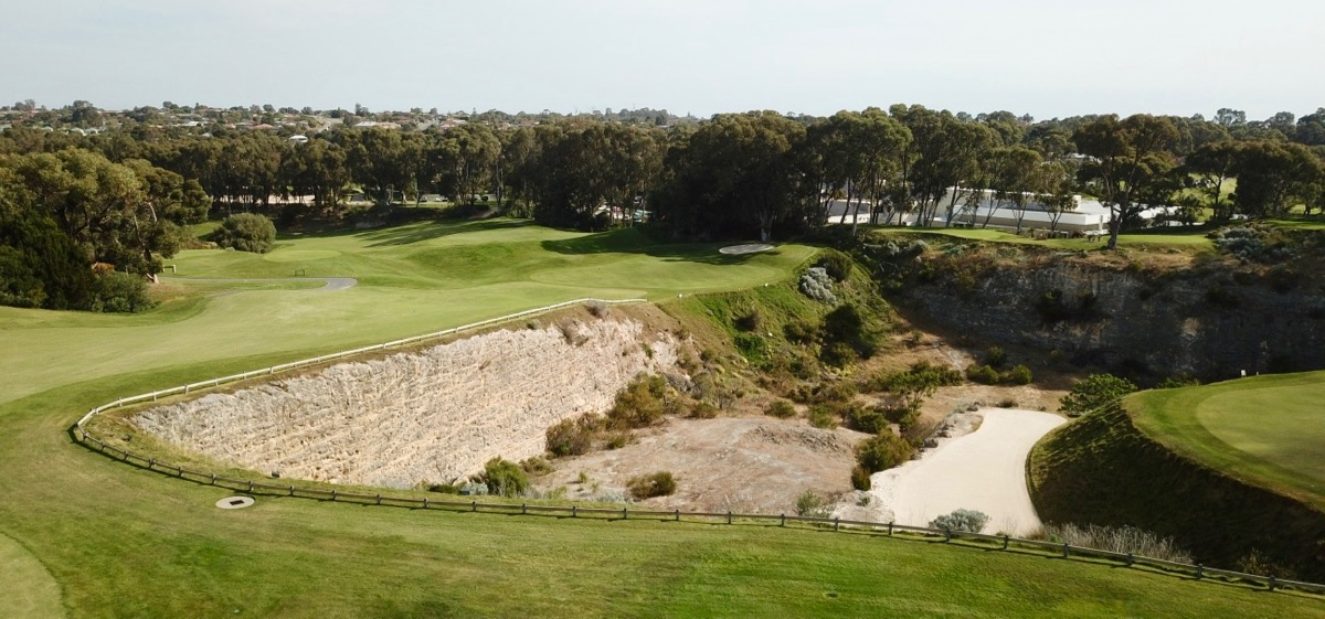Joondalup Resort- Quarry Course- hole 5
