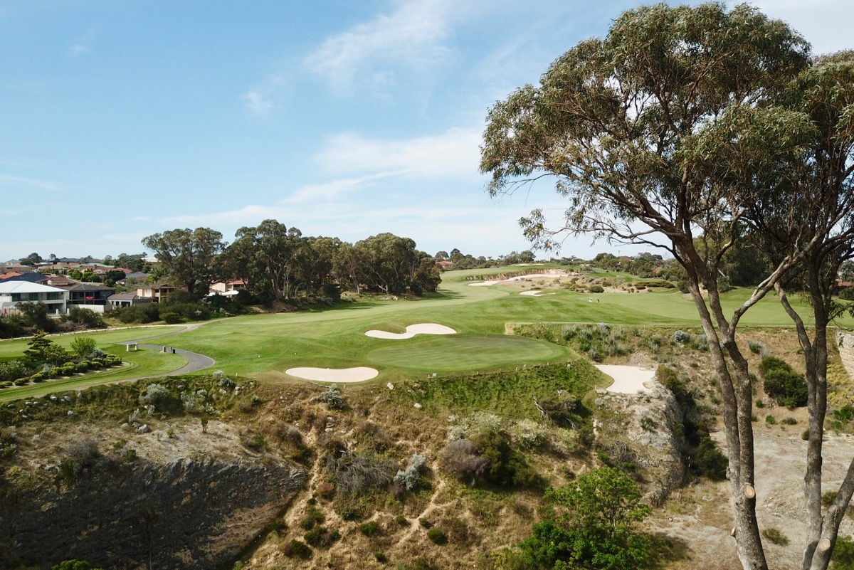Joondalup Resort- Quarry Course- hole 3