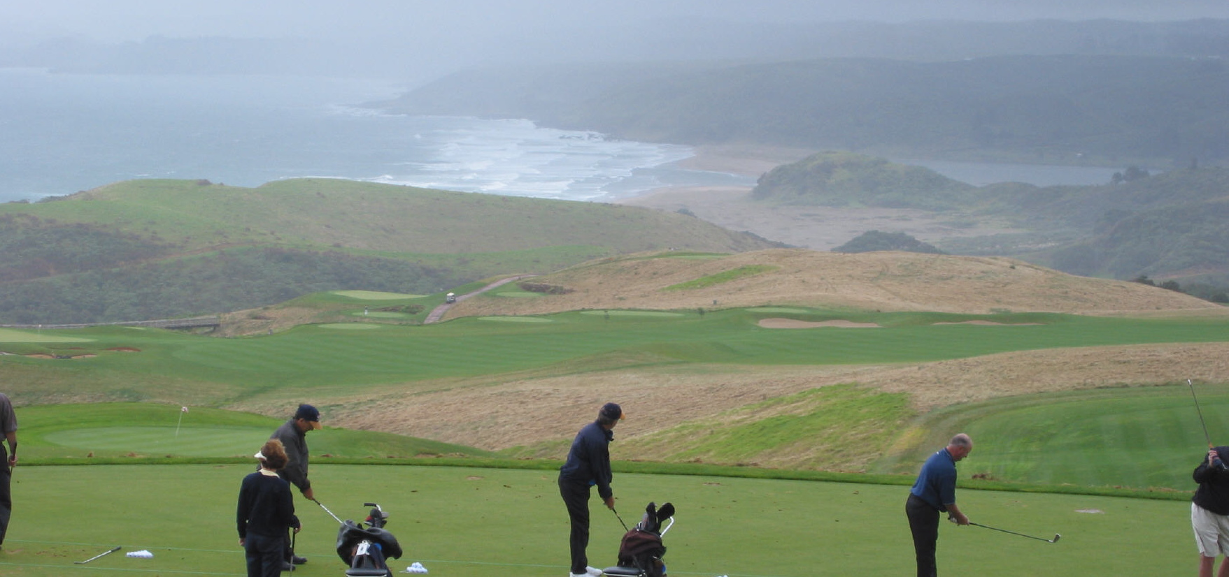 Kauri Cliffs- the practiceTee