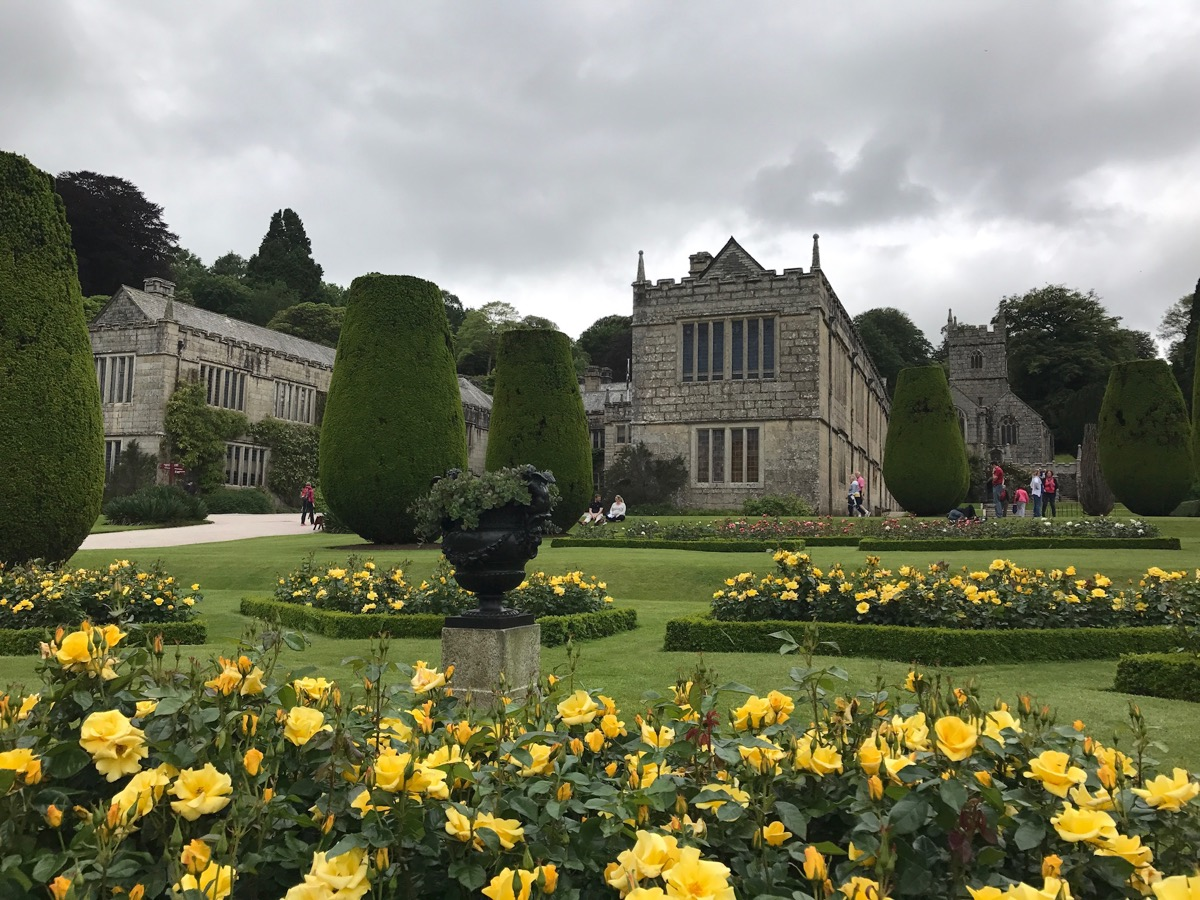 Lanhydrock- palatial house and gardens