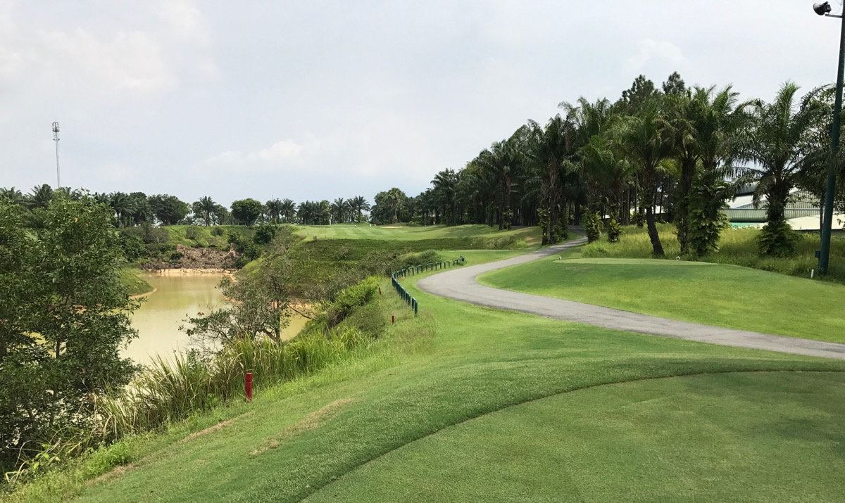 Long Thanh GC- Hill Course- hole 18