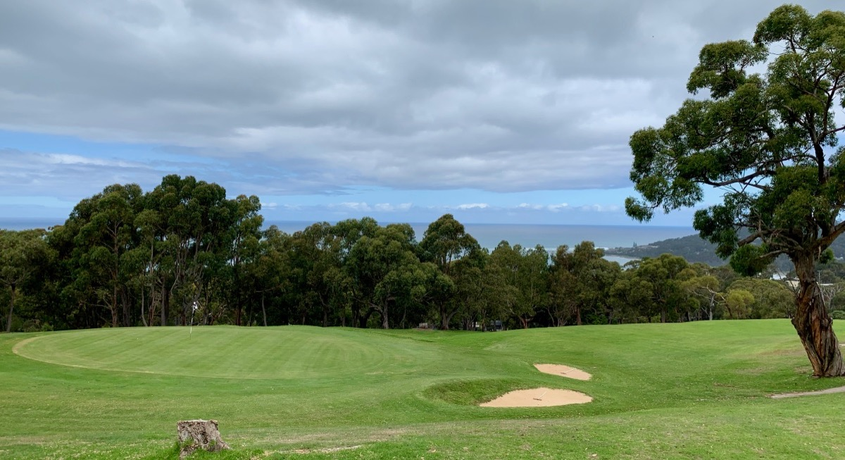 Lorne Country Club- hole 9