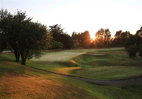 Christchurch GC- hole 2