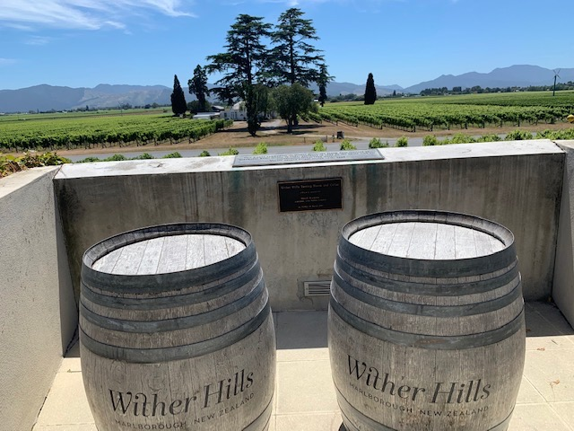 Wither Hills winery, Blenheim
