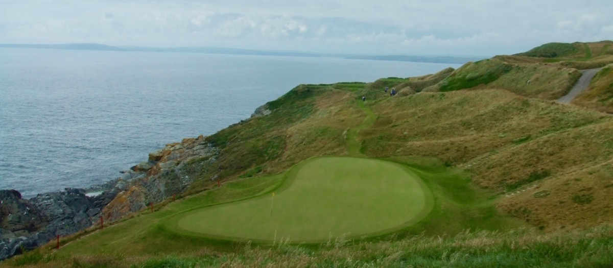 Old Head Golf Links- hole 7- don't go right!