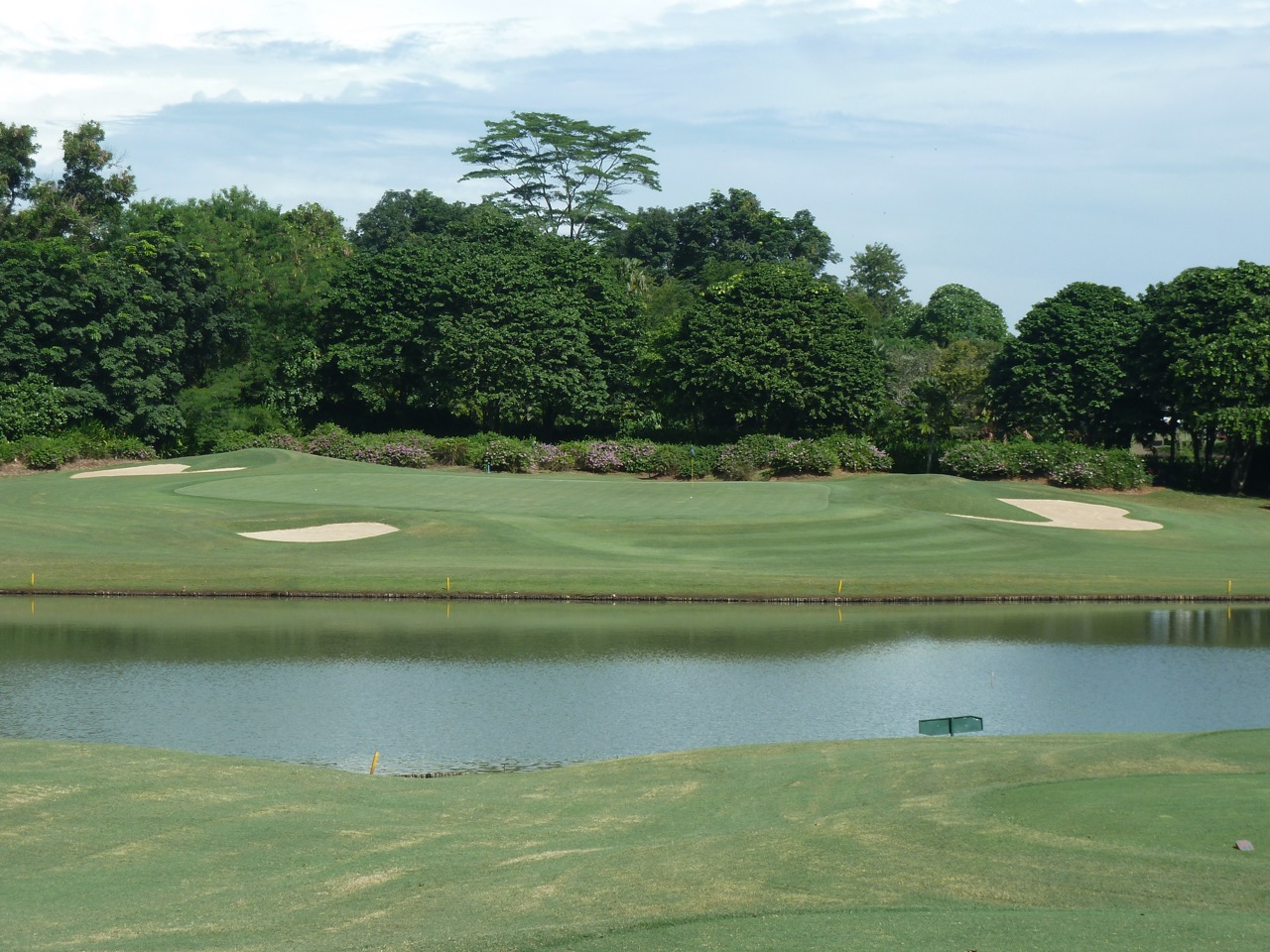 Emeralda GC- a touch of class!