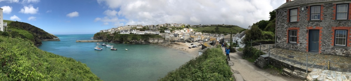 Port Isaac ; Doc Martin's place