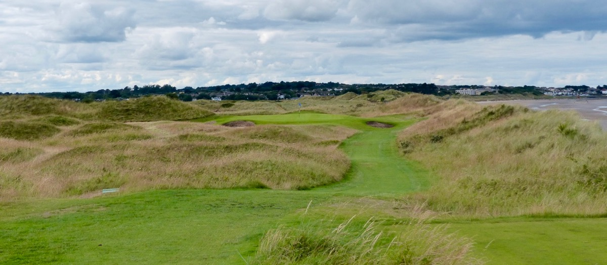 Portmarnock GC-  hole 15 green