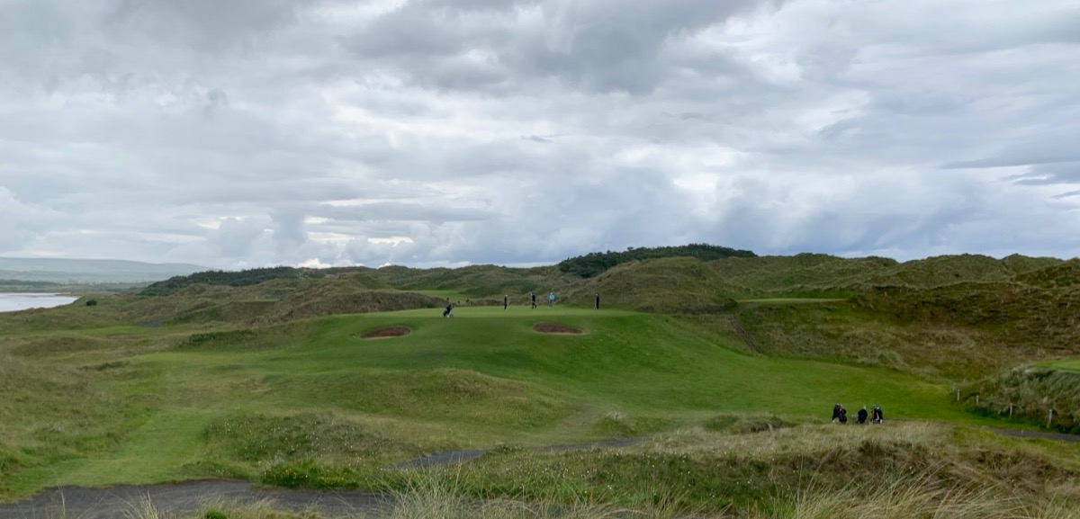 Portstewart GC- Strand course: hole 6