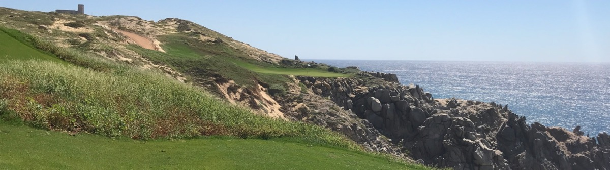 Quivira GC- Hole 13 on the cliffs
