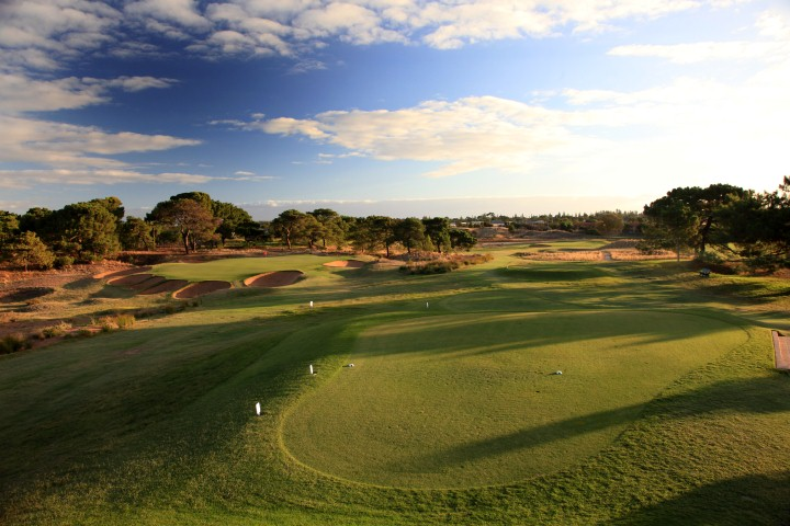 Royal Adelaide GC-  12th tee