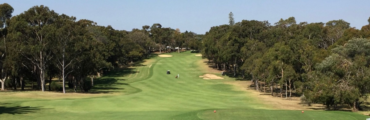 Royal Fremantle GC-  hole 1