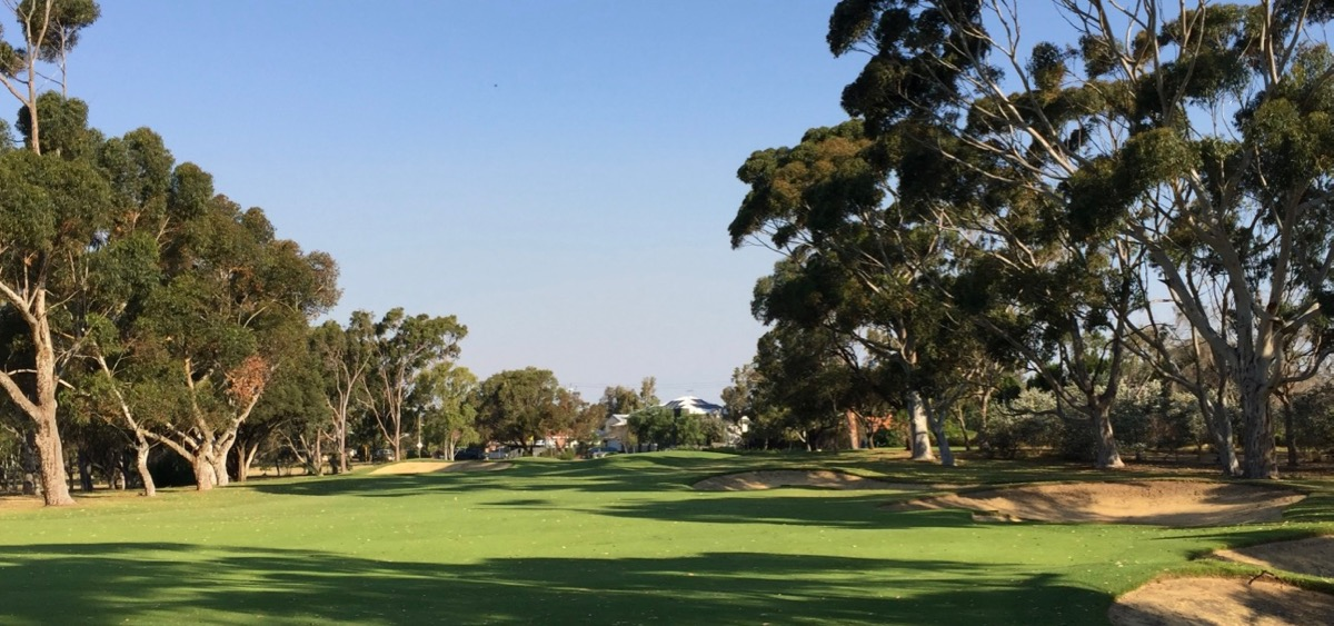 Royal Fremantle GC-  hole 5 approach