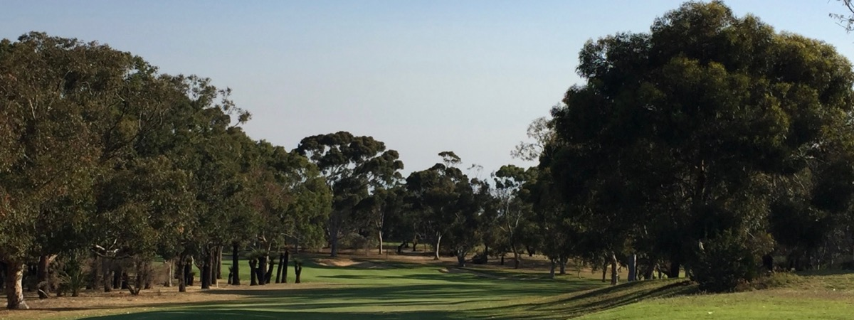 Royal Fremantle GC-  hole 5 tee shot