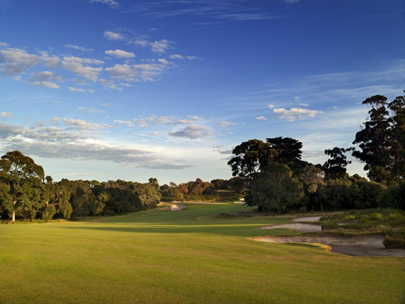 Royal Melbourne West Course Hole 6
