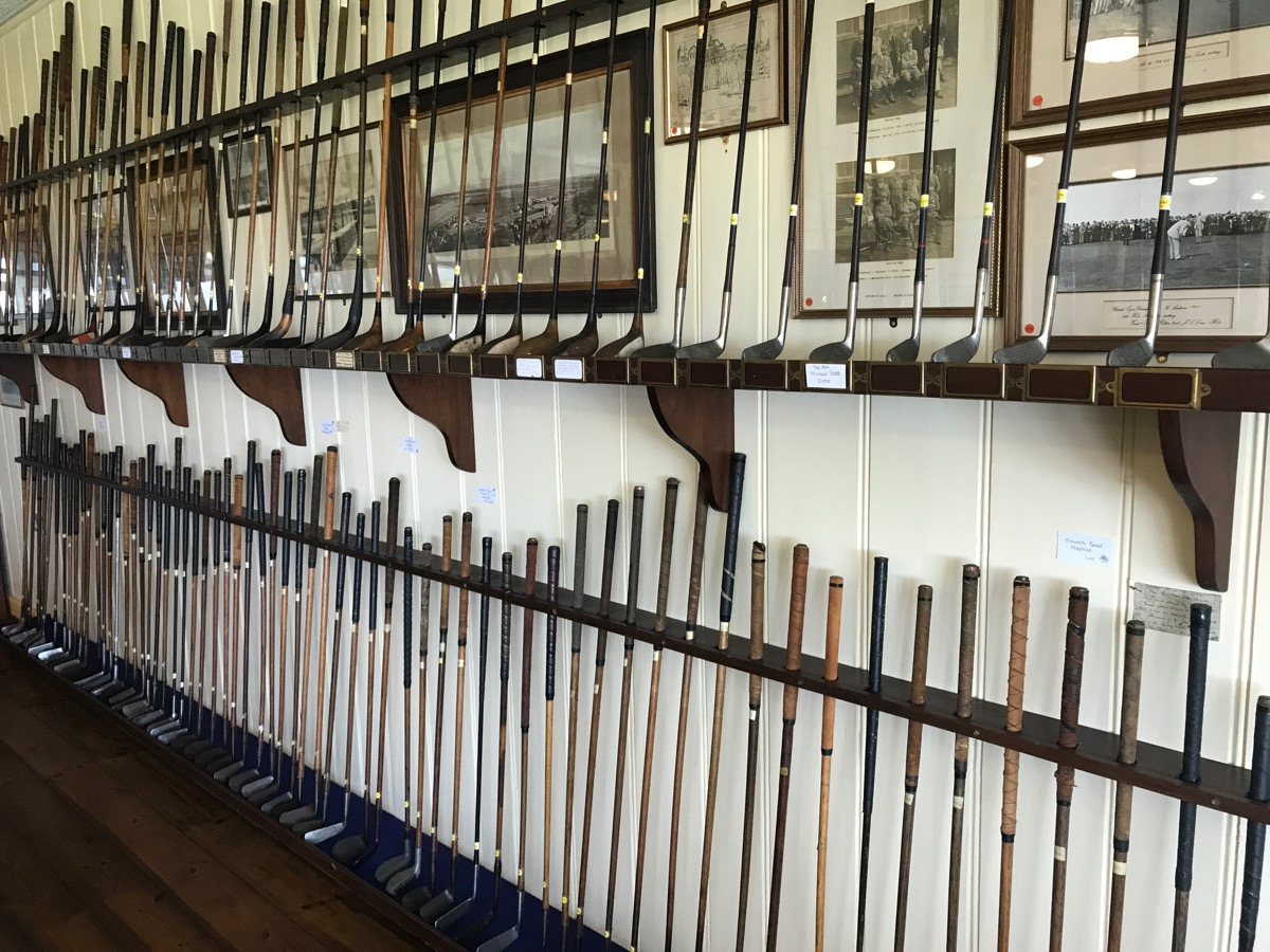 Royal Nth Devon- the clubhouse is full of history!