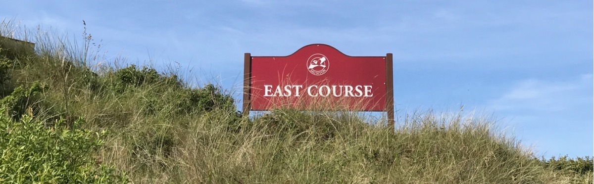 Saunton GC- East Course: sign