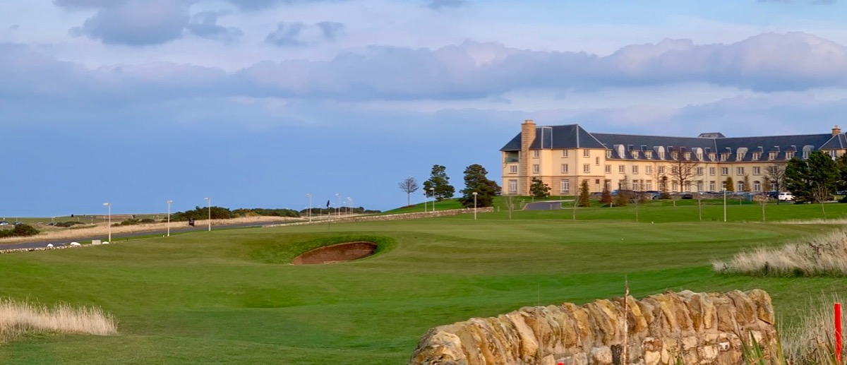 Fairmont St Andrews- Torrance course- hole 8