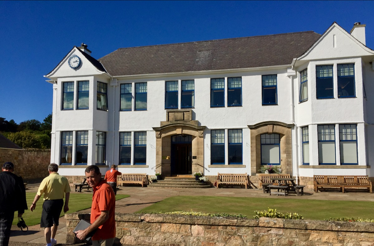Gullane members clubhouse