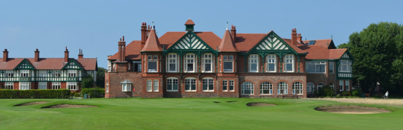 ROYAL LYRHAMS CLUBHOUSE