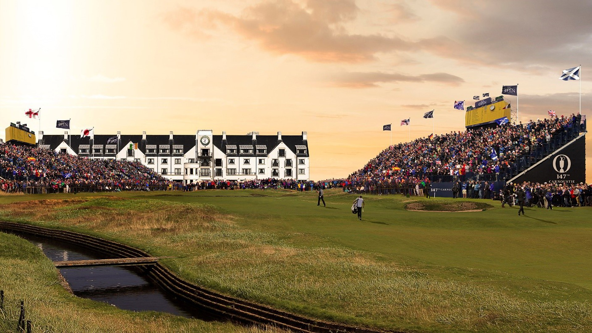 Carnoustie- home  to The  2018 Open Championship