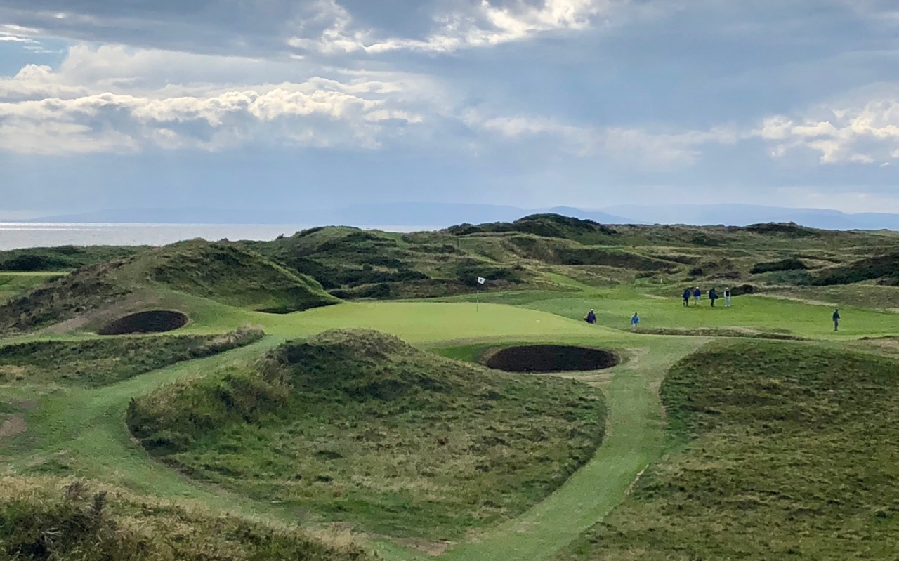 The Postage Stamp hole 8 at Royal Troon