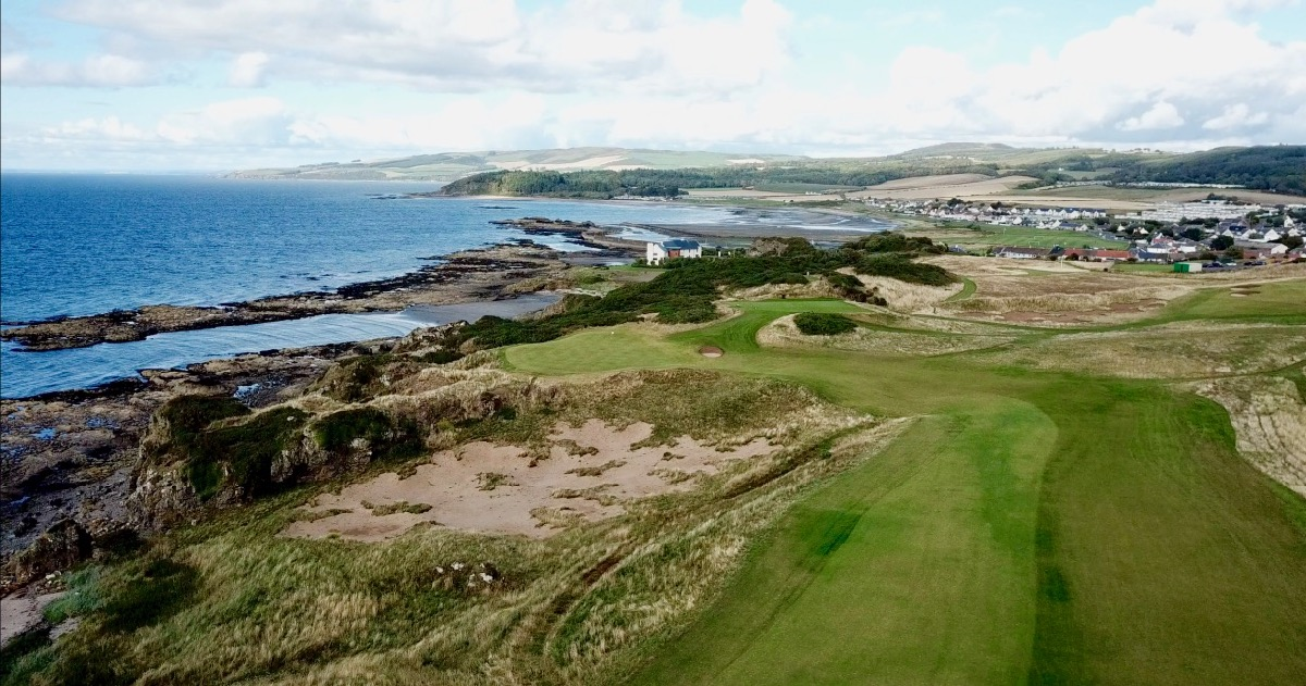 Turnberry Resort- Robert The Bruce- hole 9 aerial