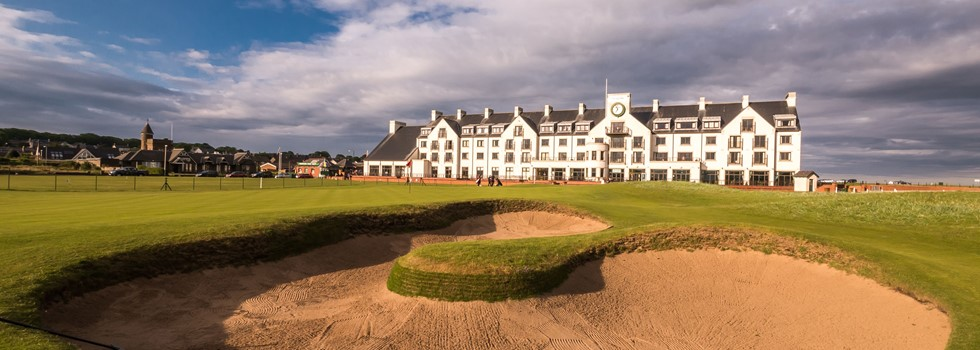 Carnoustie Golf Links- hole 18
